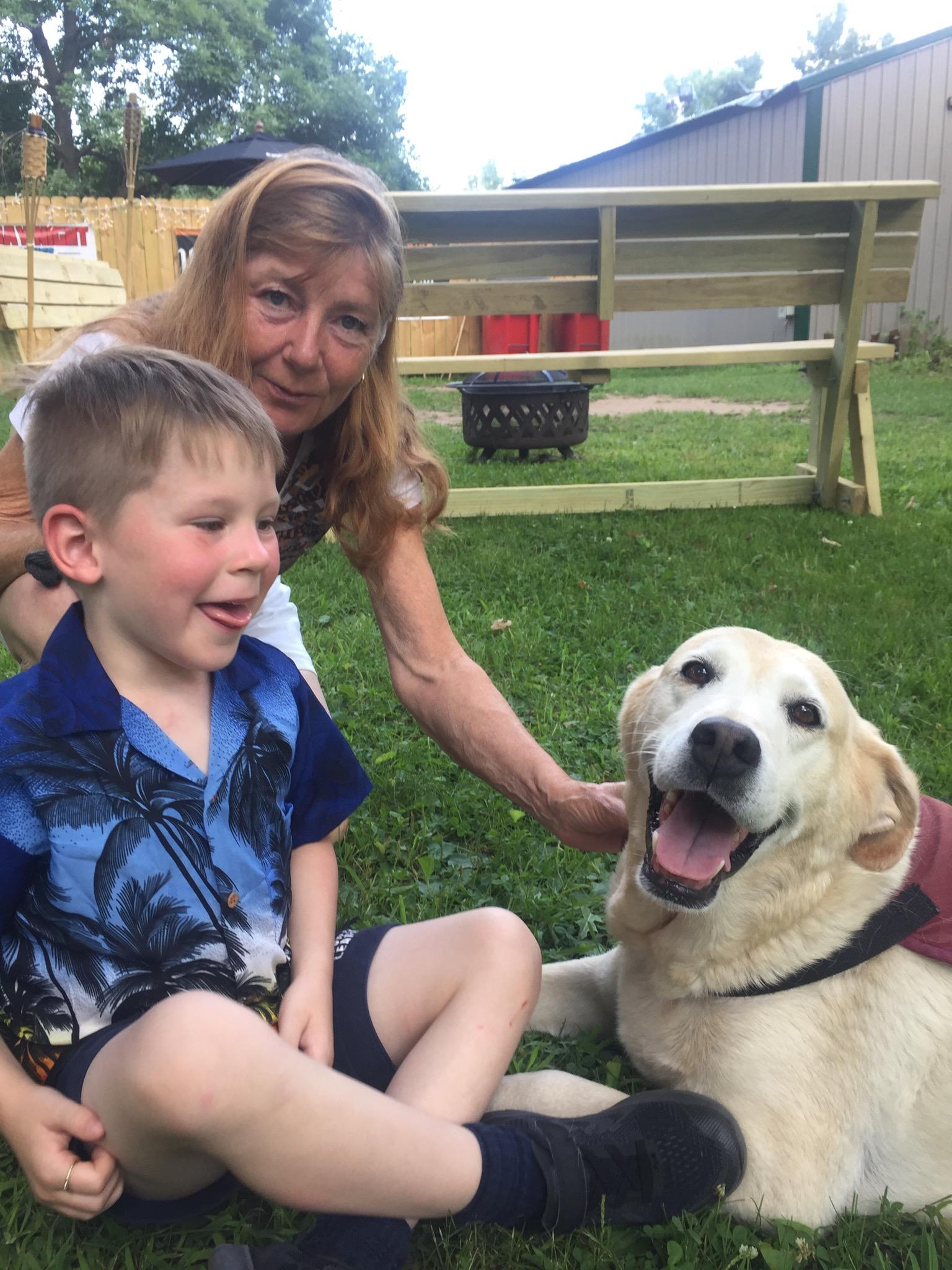 Rovers Service Dog -Veteran Child